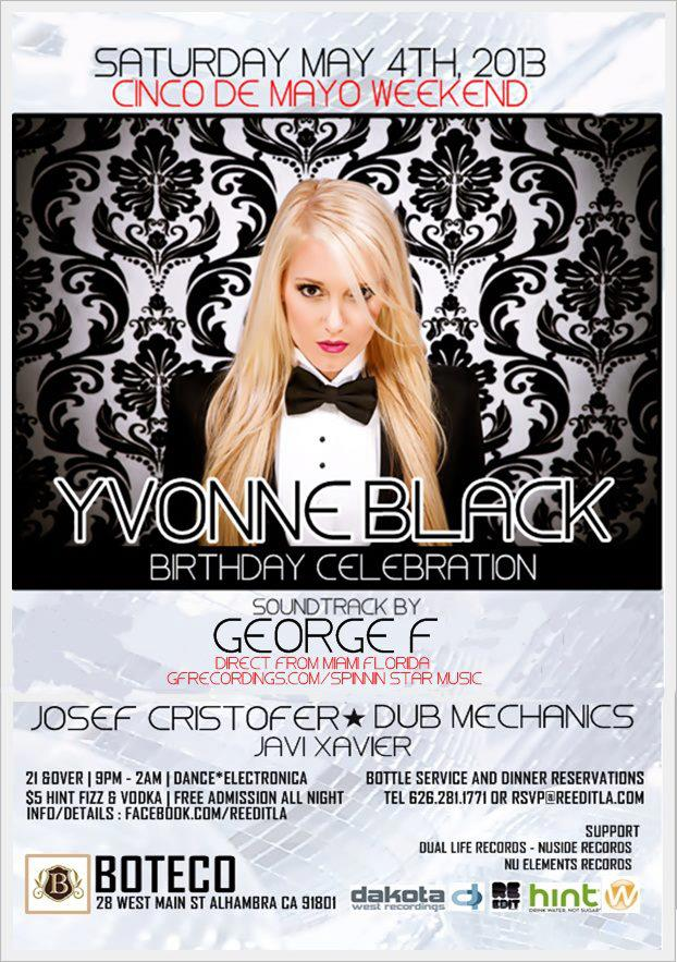 Yvonne Black & George F